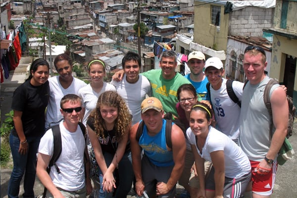 Serving Mission teams in guatemala