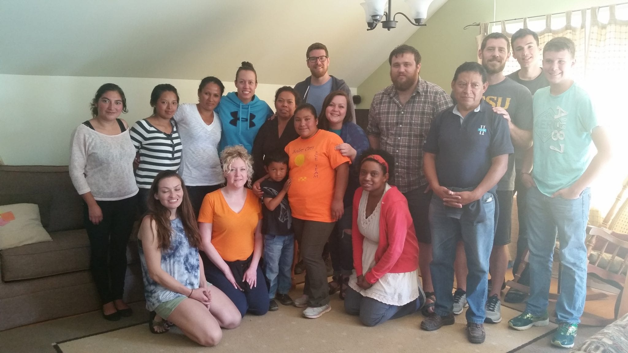 Mission team from Redeemer Church in Johnson City, TN