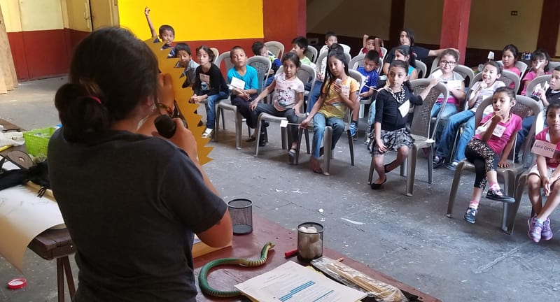 Teaching others to teach others in Guatemala