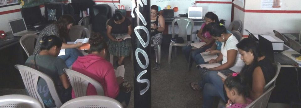 So we started a women's Bible study in Guatemala