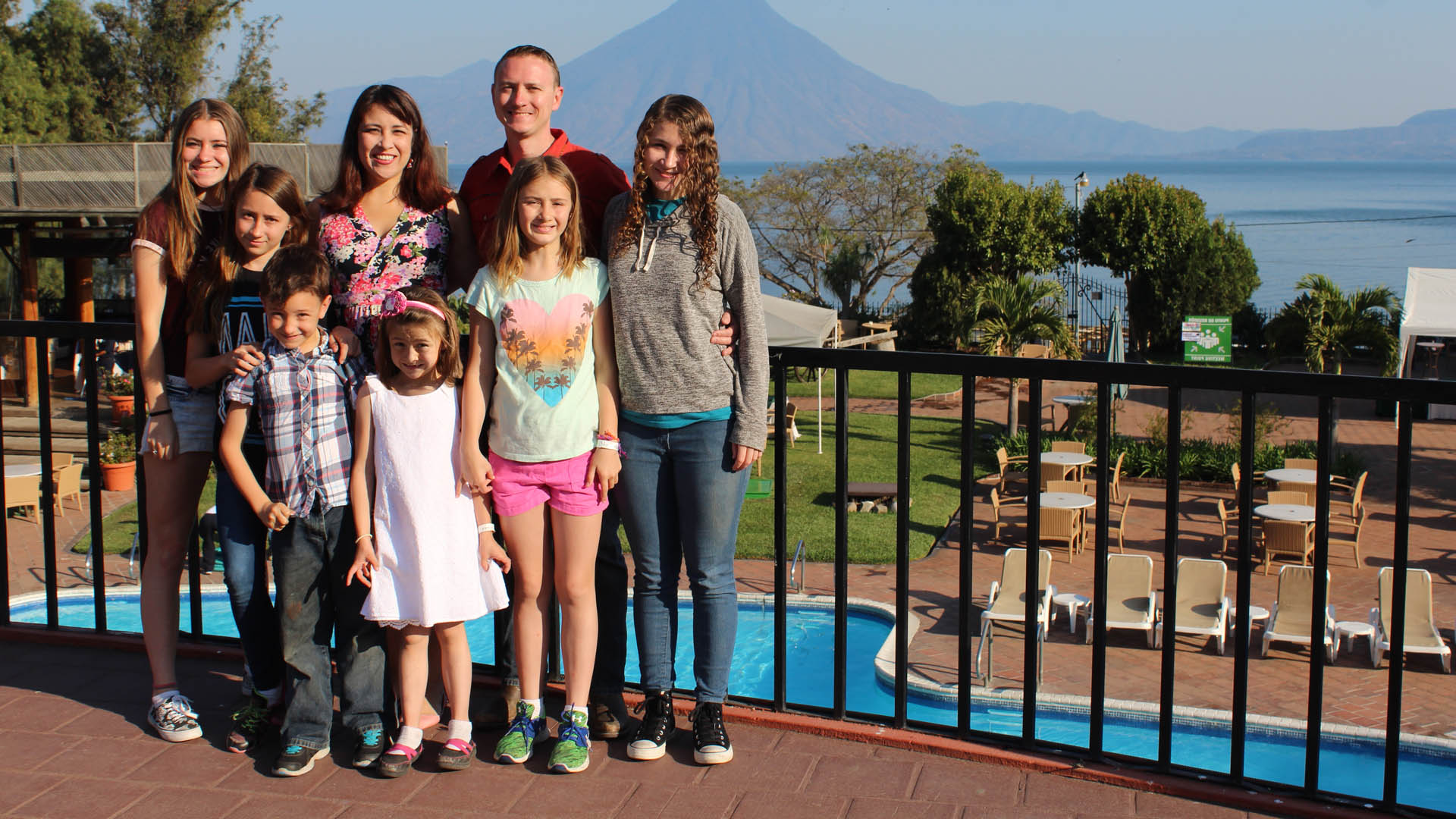 Martiny family missionaries in Guatemala 2017