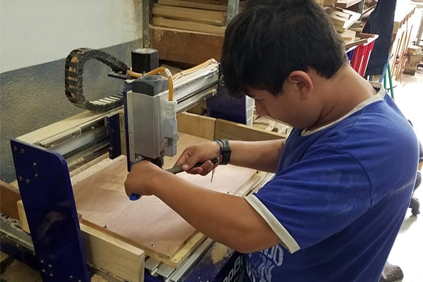 cnc engineering in guatemala with a shopbot