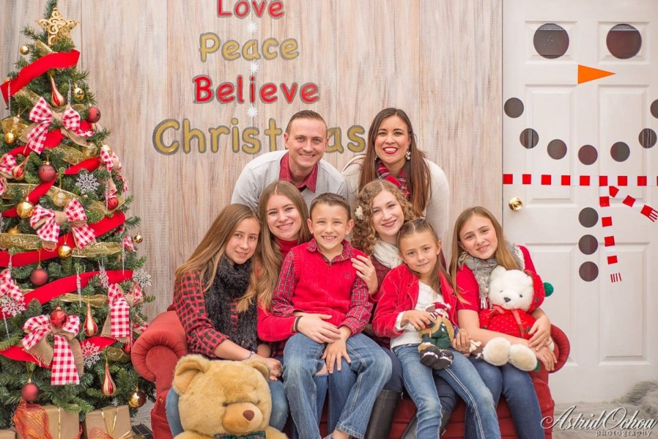 Merry Christmas from the Martiny Family Missionaries in Guatemala