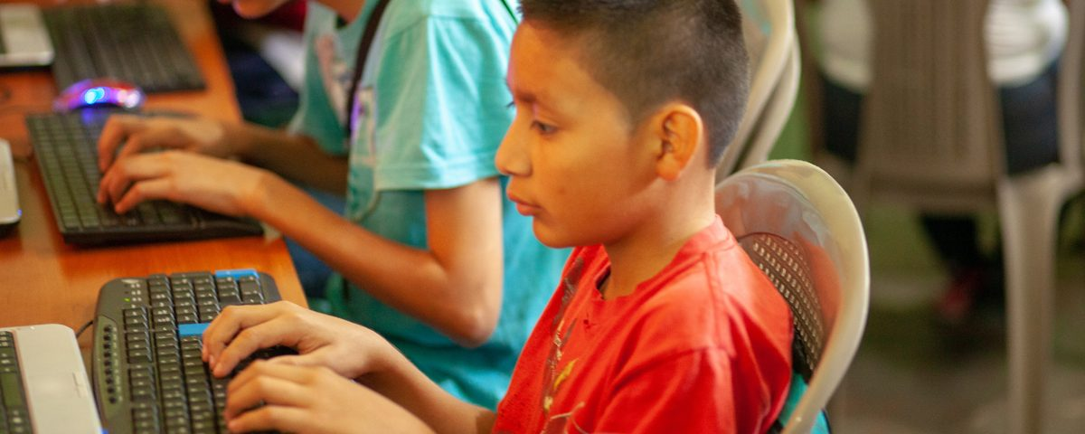 Missionary giving children a safe place to learn in Guatemala