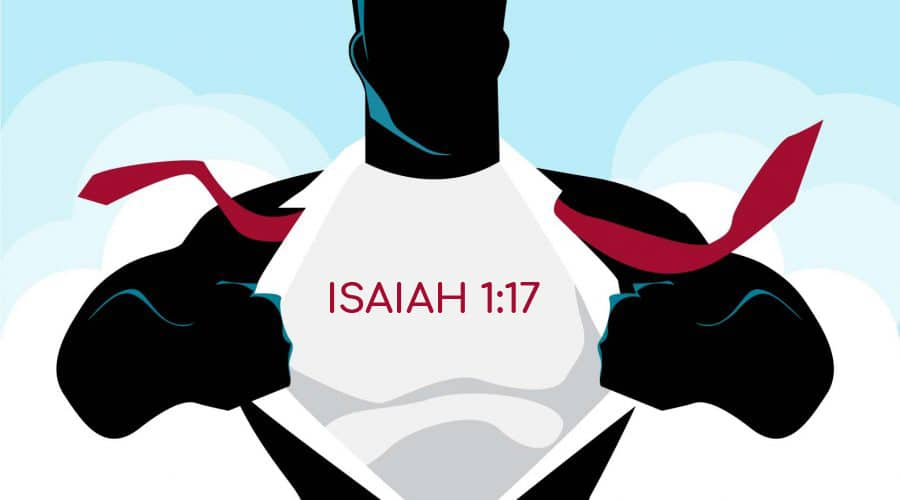 isaiah 1:17 become a hero to an orphan